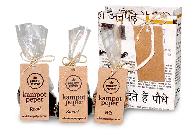 Order gift package with 3 colors pepper