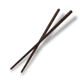 Palm wood chopsticks